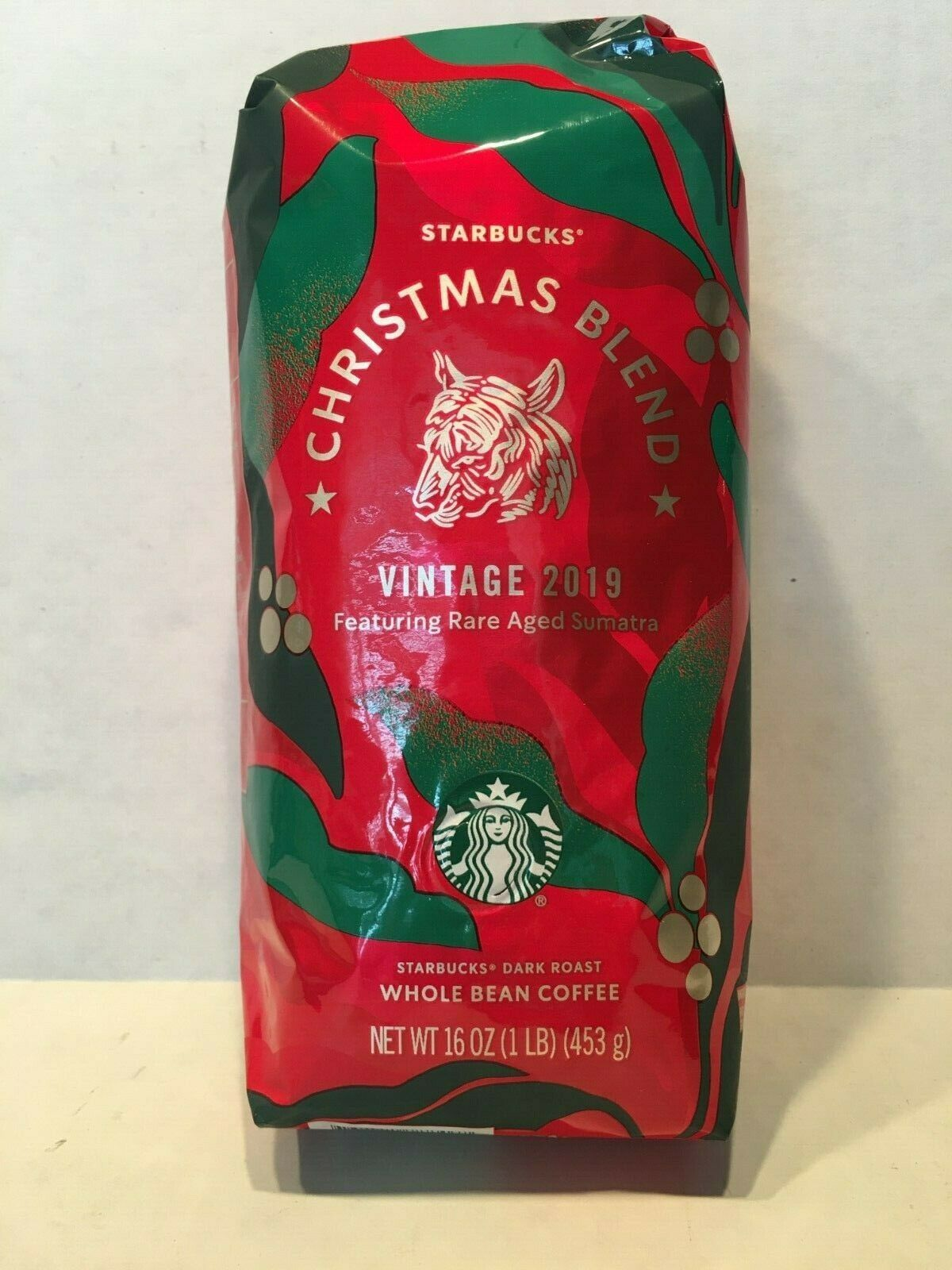 1lb STARBUCKS Christmas Blend 2019 Whole Bean Coffee