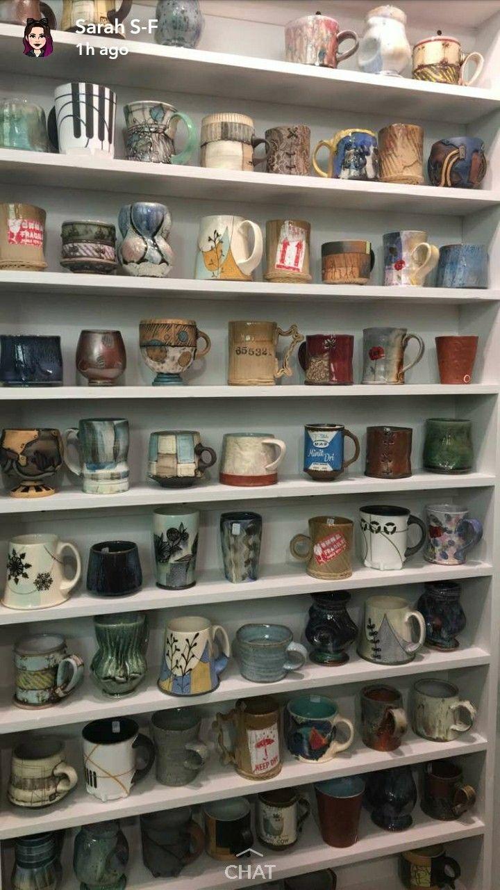 Mug collection GOALS!! #ceramicmugs