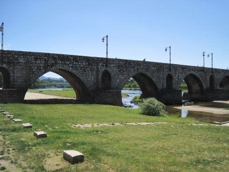 Roman bridge Ponte de Lima (oldest town in Portugal)