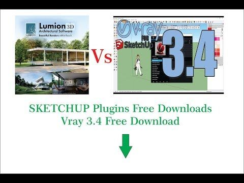 V Ray Vs Lumion vray Download And plugins Downloads for Sketchup
