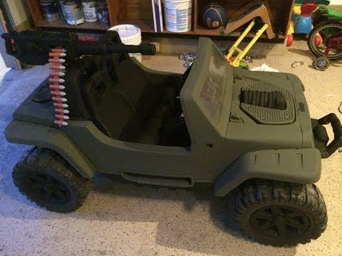 Power Wheels Jeep Hurricane Modification Youtube Power Wheels