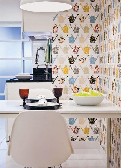 Cocinas empapeladas - Porteño & Chic -Magazine