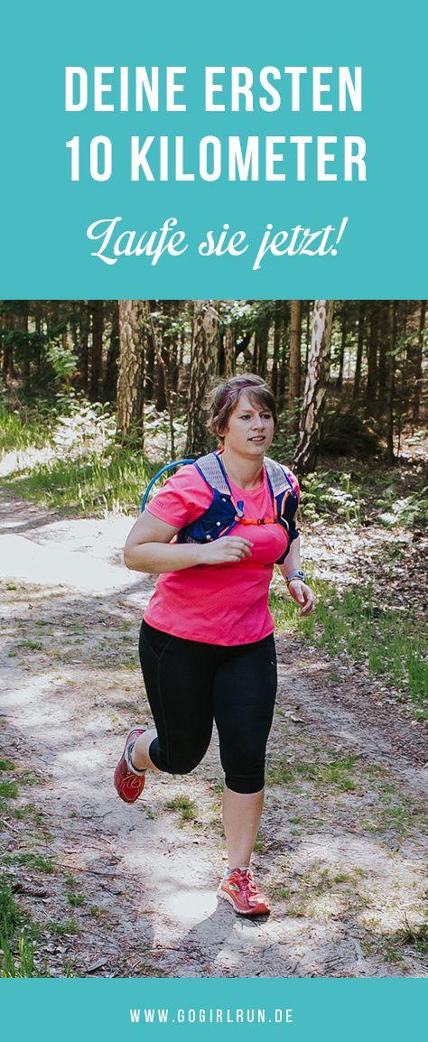 10-Kilometer-Challenge – Dein 10-Wochen-Lauftraining ...