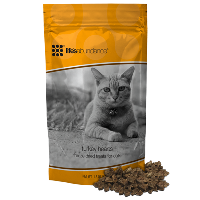 Freeze Dried Turkey Heart Treats For Cats Give Your Kitty A