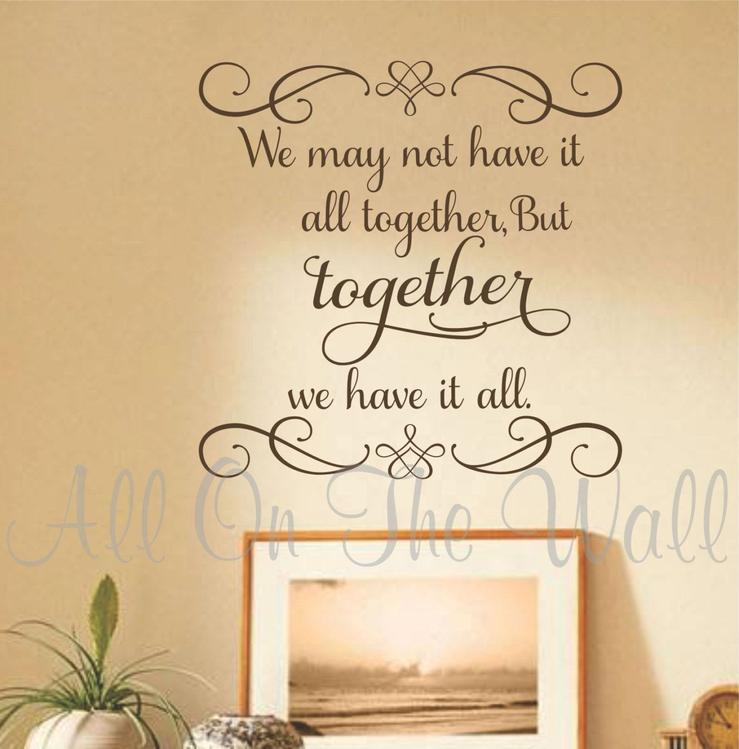 Beautiful family saying! Needs to be in my family room! Family Wall ...