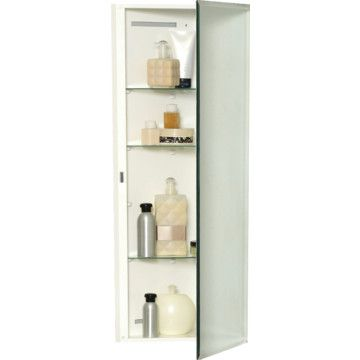16w X 20 H Recessed Beveled Edge Mirrored Medicine Cabinet With Polystyrene Body Surface Mount Medicine Cabinet Medicine Cabinet Mirror Beveled Edge Mirror