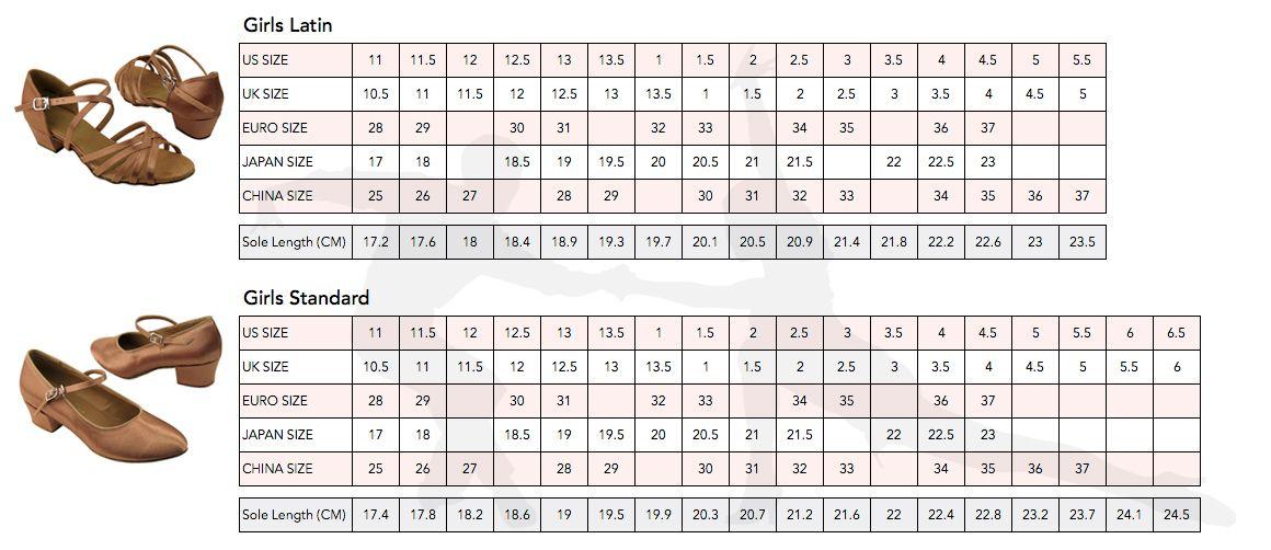 Shoe Sizing Heel Size Chart For Kids Baby Shoe Size Chart Shoe Chart