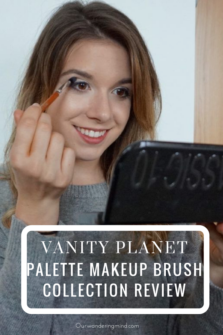 Vanity Palette Makeup Brush Collection and Classic