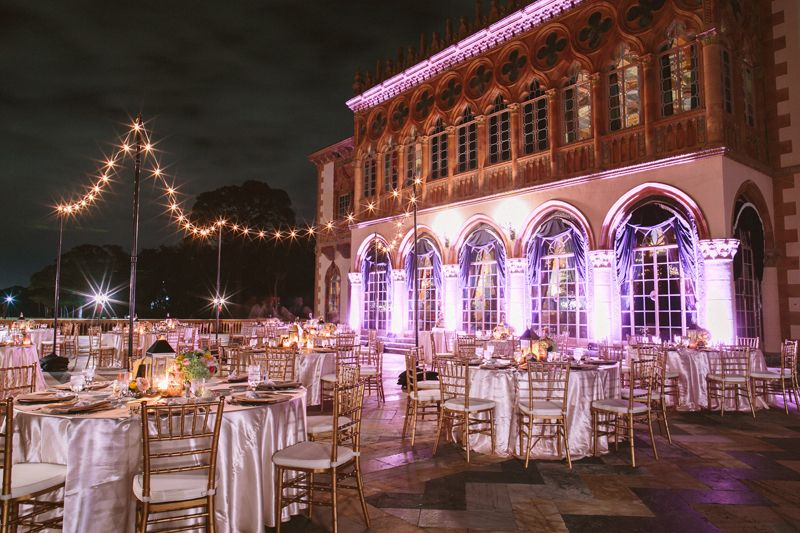 Ringling Mansion As A Wedding Location 7500