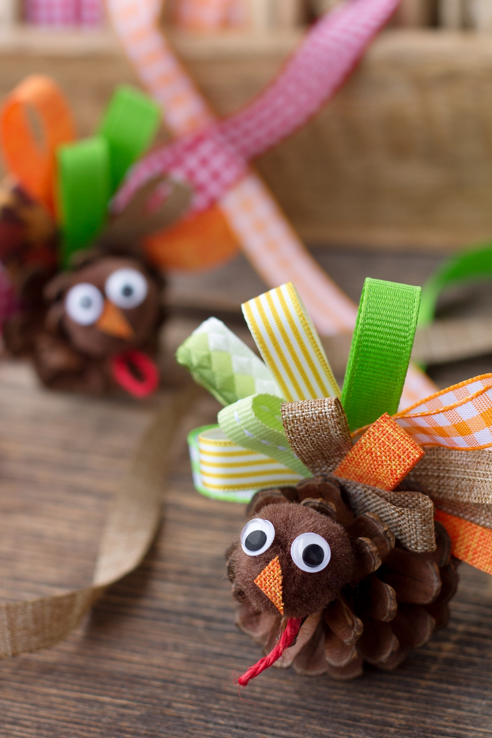 How to Make a Fun Pine Cone Turkey Craft for Kids