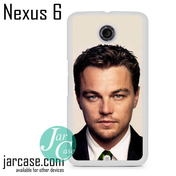 Leonardo Di Caprio With The Green Eyes Phone case for Nexus 4/5/6