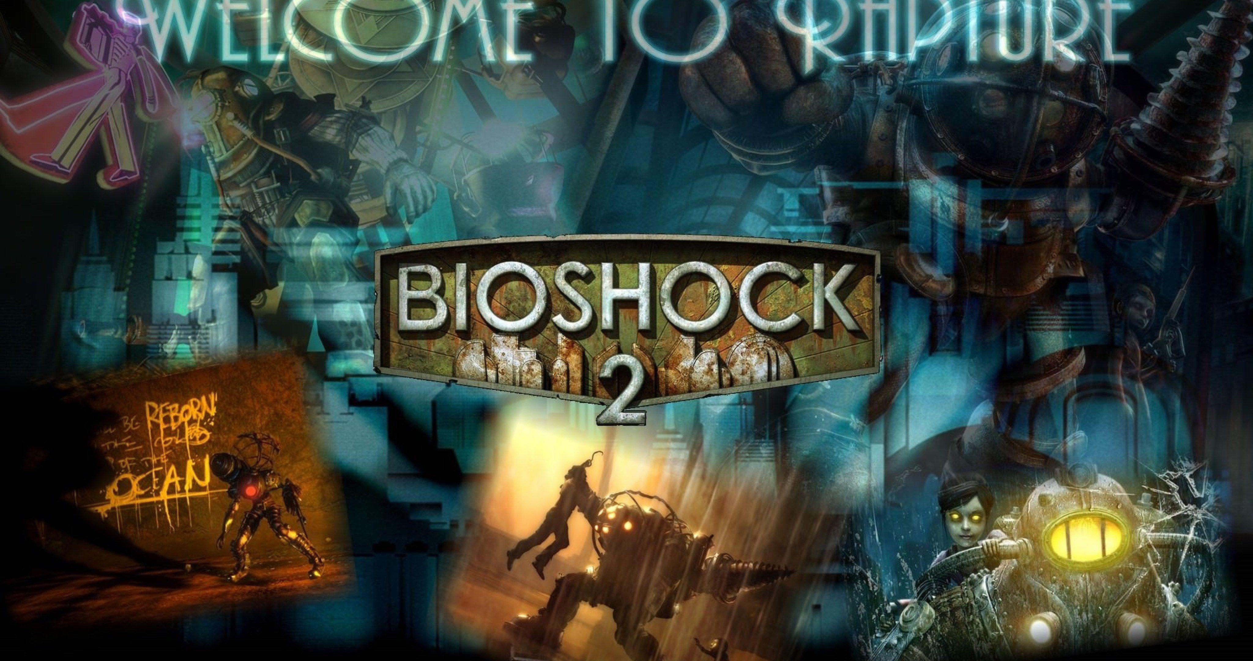 Bioshock 2 Game Wallpaper 4k Ultra Hd Wallpaper Bioshock Bioshock 2 Bioshock Game