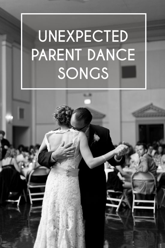 Playlist Unexpected Parent Dance Songs Red And Black Wedding