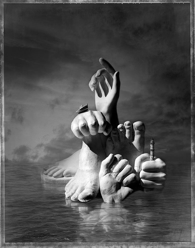 Paul Biddle Surrealist Photography Handy-Footy-Island | Surreal ...