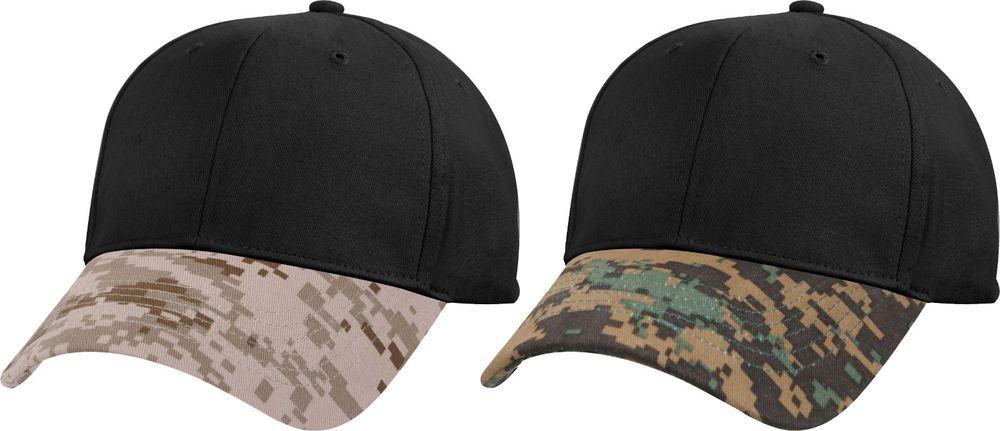 Two Tone MARPAT Digital Camouflage Military Low Profile Tactical Baseball  Cap  Rothco  BaseballCap 3d530f381bf
