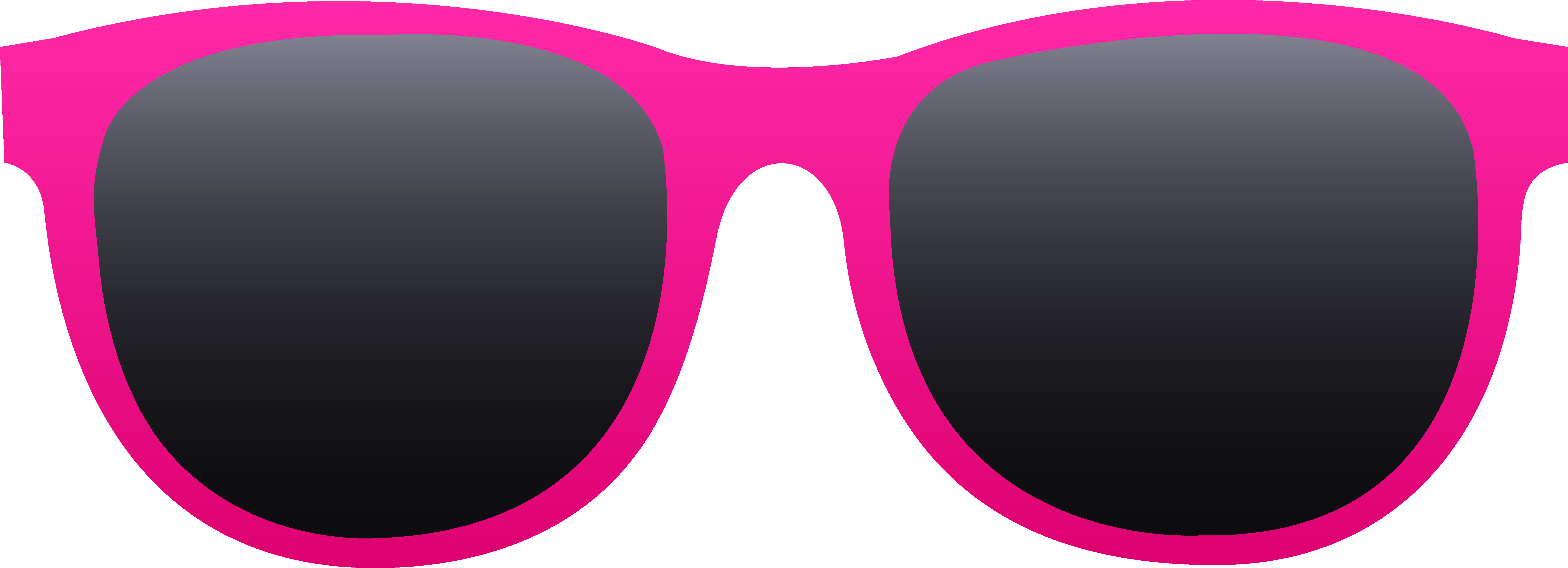 Free clip art of a pair of hot pink sunglasses n use for