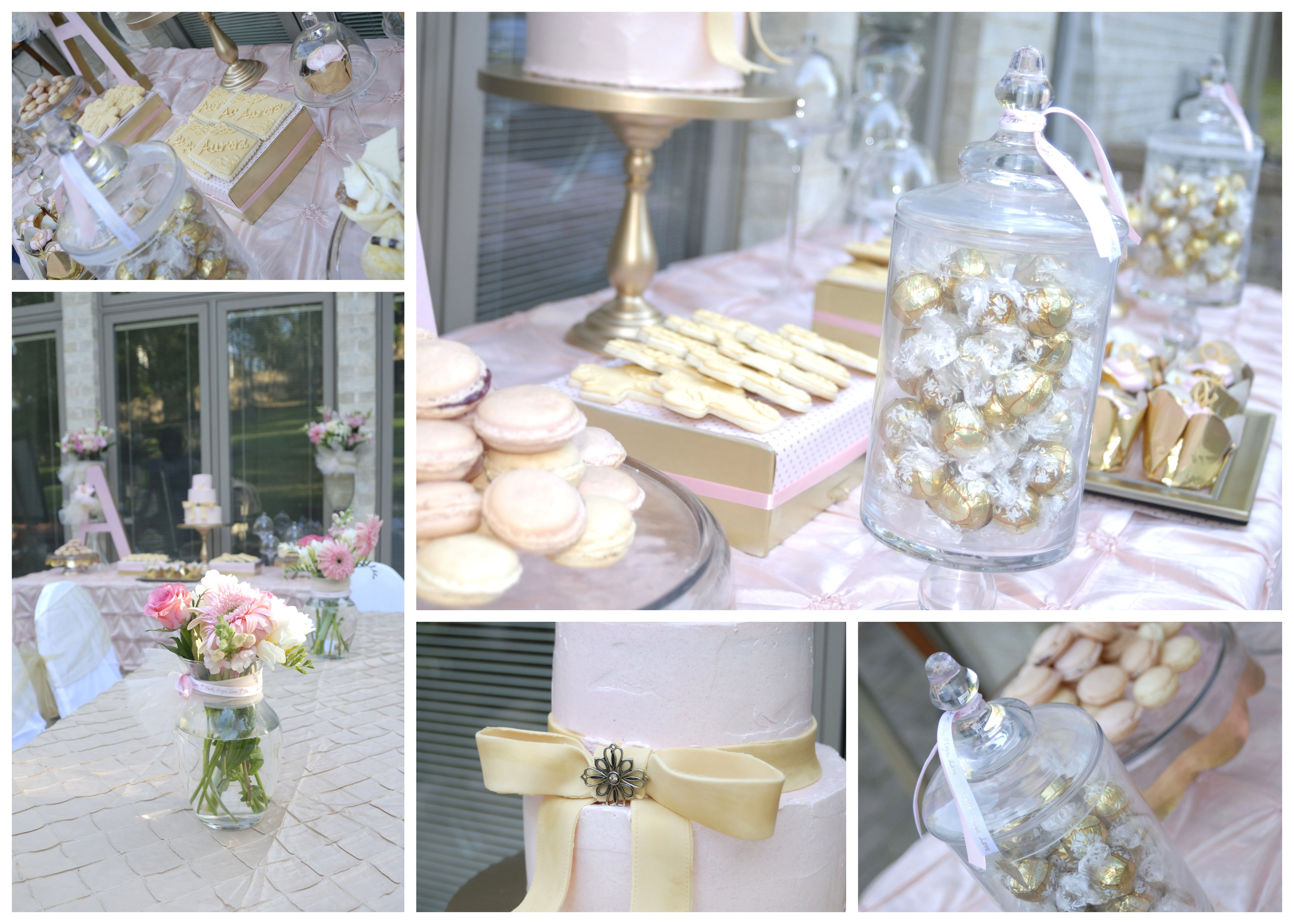 christening table decoration ideas | Dessert choices adorning the table were cake macarons cupcakes & christening table decoration ideas | Dessert choices adorning the ...