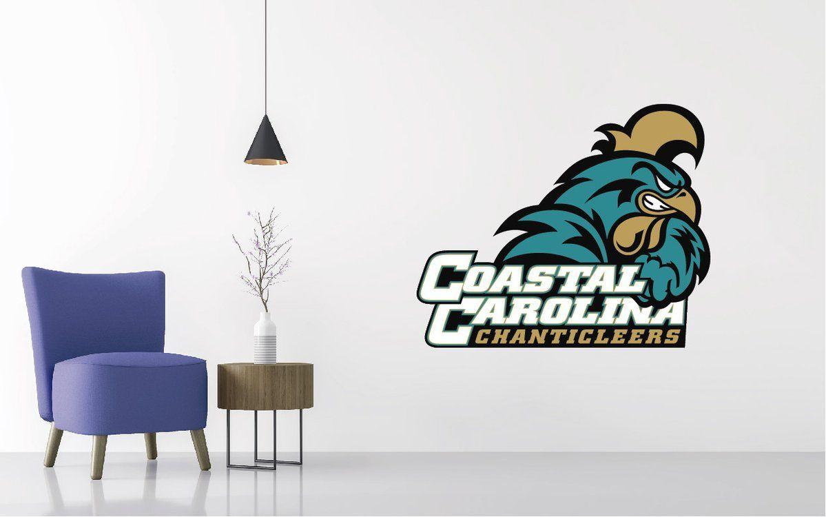 Coastal Carolina Logo Wall Decal Wall decals, Football