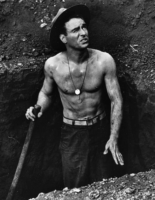 """Montgomery Clift.  """"From Here to Eternity"""" (1953)"""