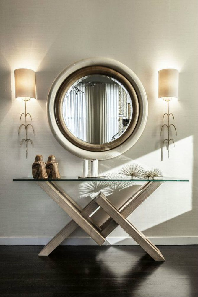 5 Glass Console Table Ideas Modern Console Tables Console Table Decorating Entryway Decor