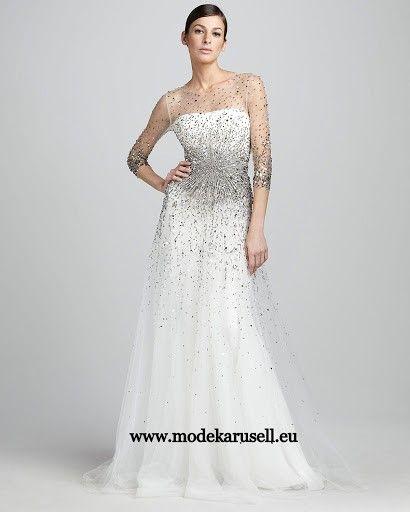Weisses Abendkleid Lang | günstige Abendkleider Online Kaufen ...