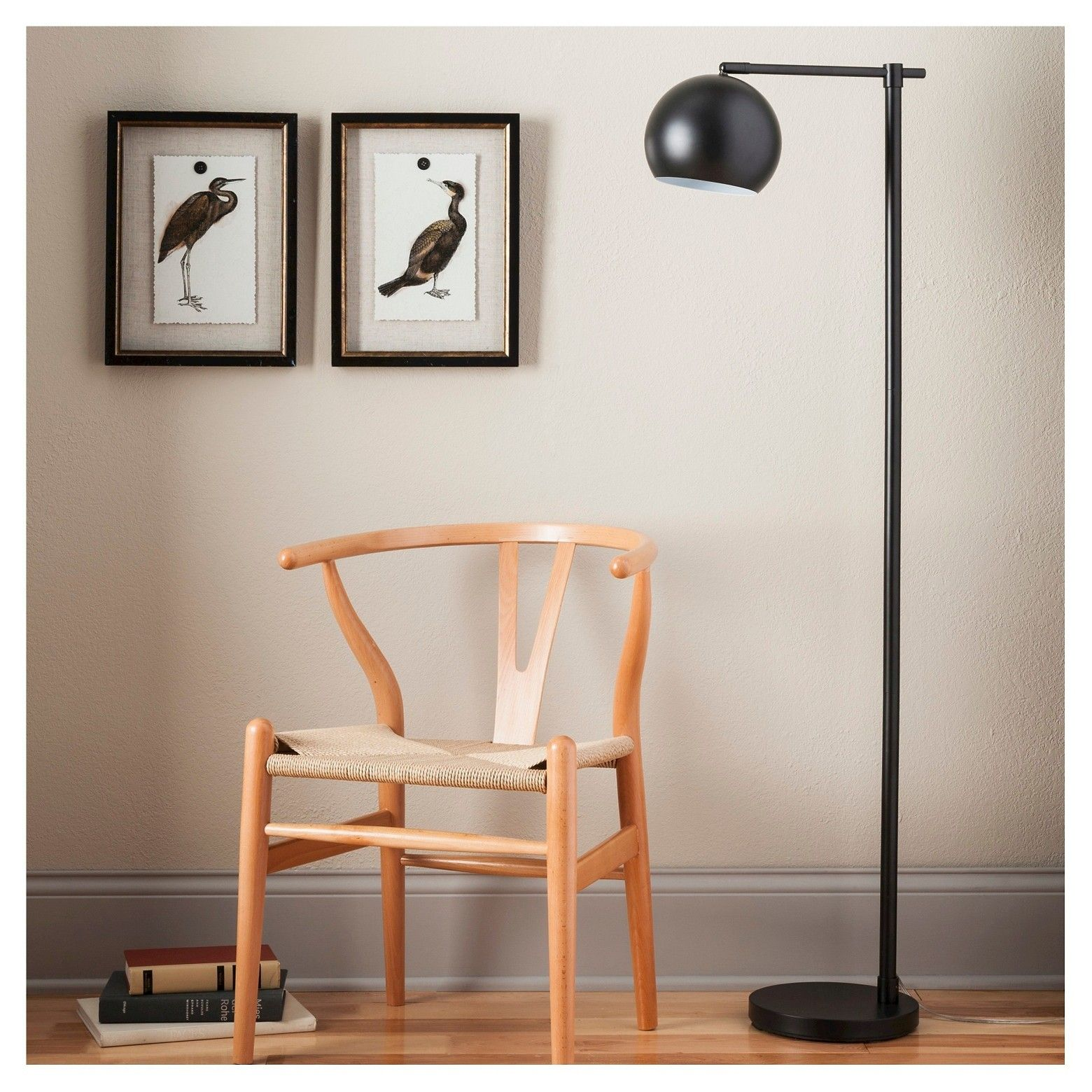 Edris Metal Globe Floor Lamp Black Includes Energy Efficient Light Bulb Project 62 Globe Floor Lamp Black Floor Lamp Target Floor Lamps