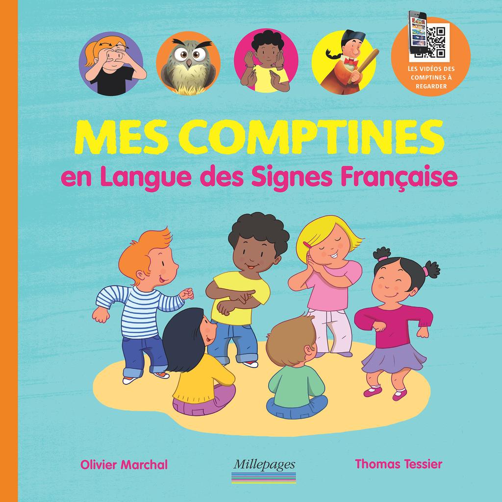 Mes Comptines En Langue Des Signes Francaise 9782842183745 Millepages Couverture Comptines Signes Francais Langue Des Signes Francaise