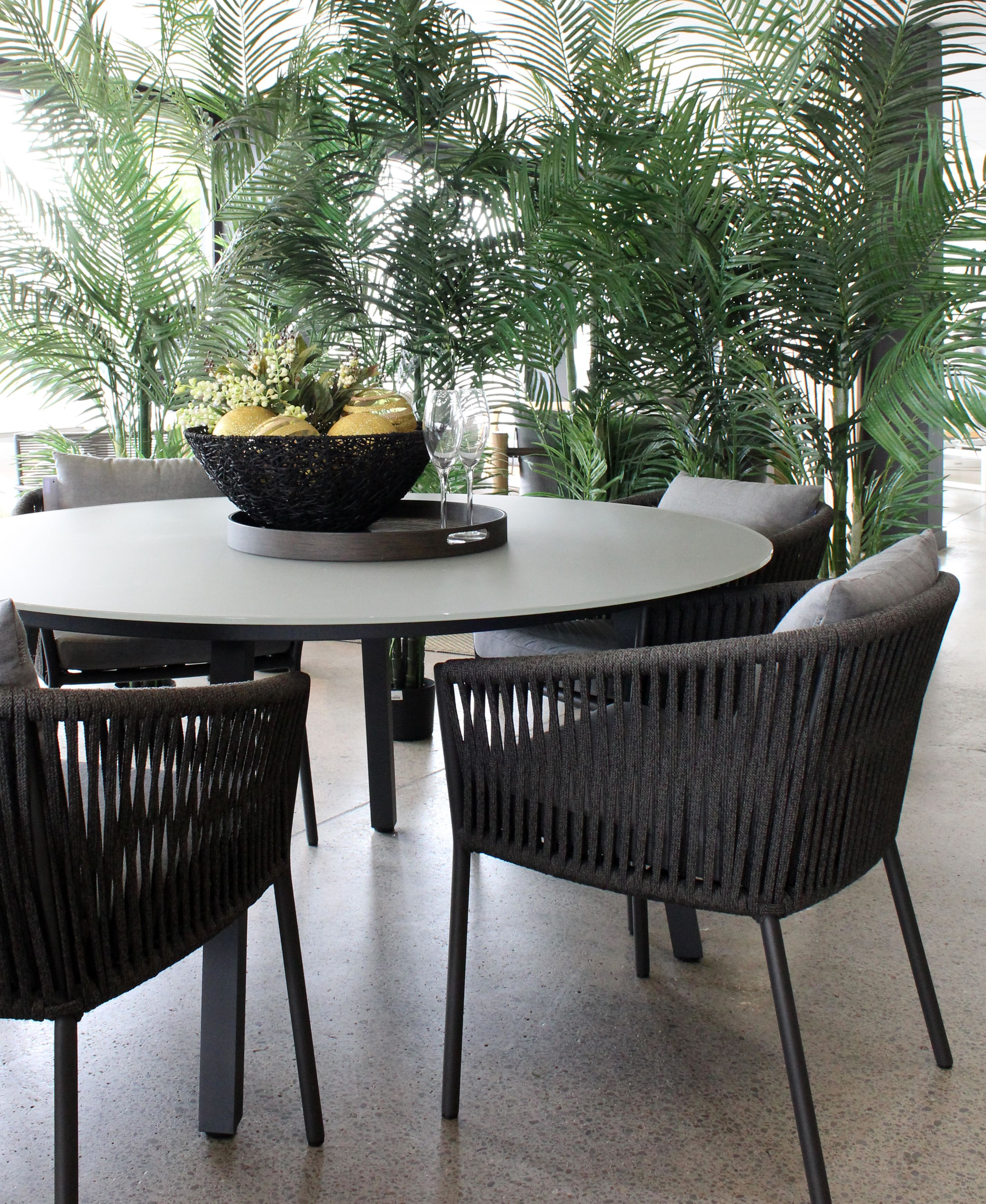Cove is a carefully curated collection of outdoor furniture and accessories that are designed to offer