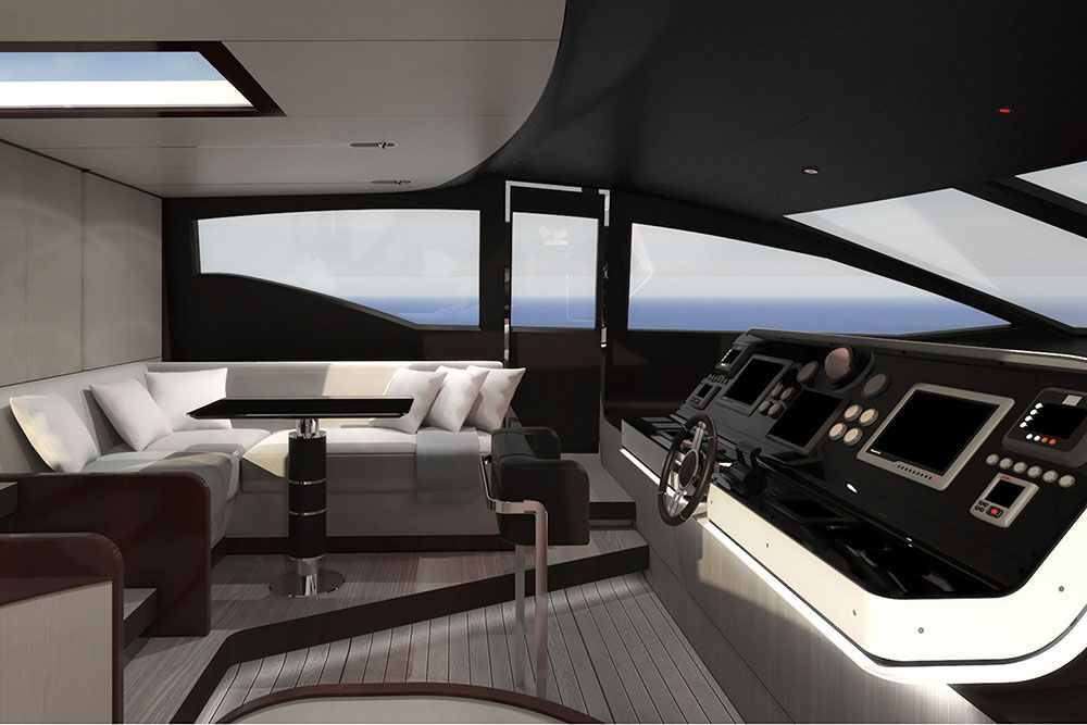 Azimut Yachts Hits Again With Azimut Grande 35 Metri With Images