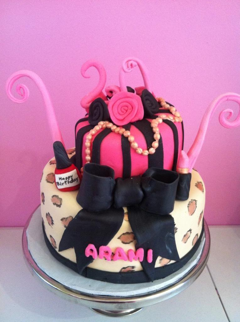 Designer #diva birthday cake