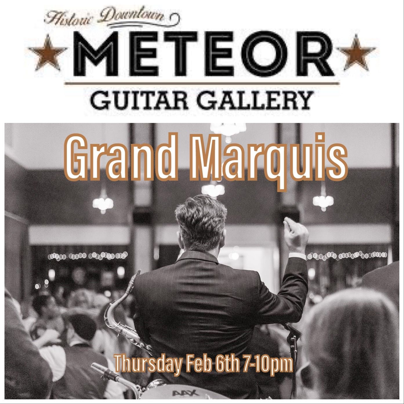 The Grand Marquis Thu Feb 6th Meteor Guitar Gallery Bentonville Ar In 2020 Live Music Events North West Grand Marquis