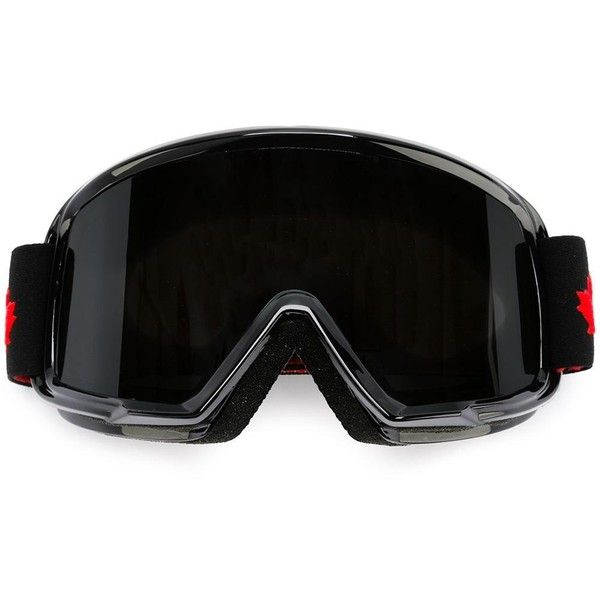 Dsquared2 Ski mask goggles ($325) ❤ liked on Polyvore featuring men's fashion and black