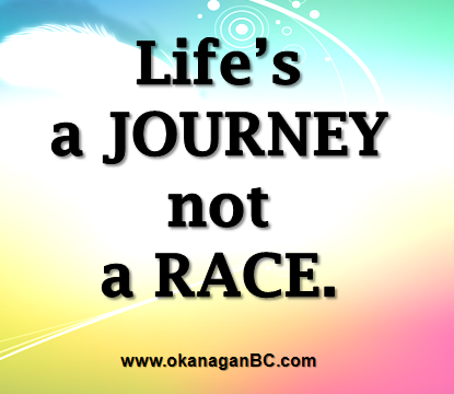 Lifes A Journey Not A Race Quotes Inspirational Quotes