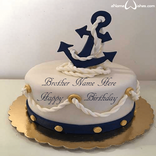 Terrific Best Anchor Name Birthday Cake Fish Cake Birthday Birthday Cake Funny Birthday Cards Online Alyptdamsfinfo