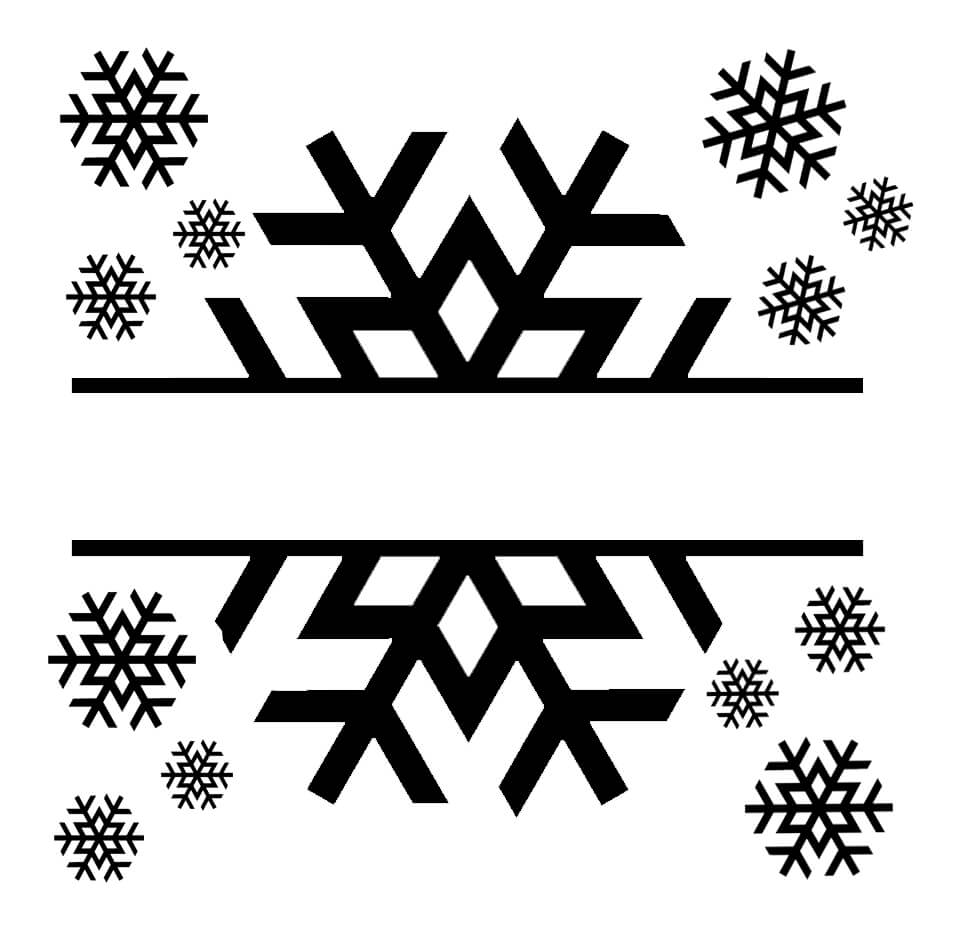 Free Snowflake Name SVG File Cricut christmas ideas