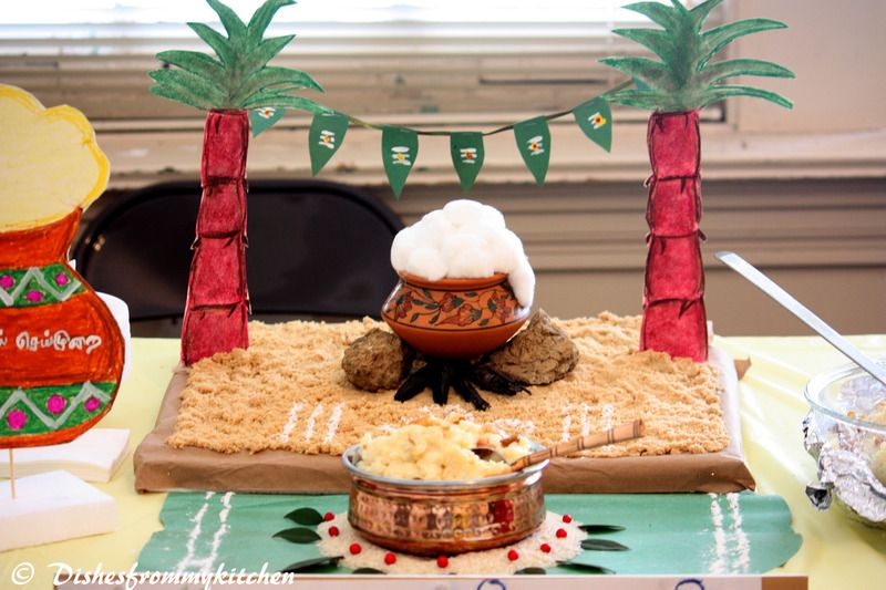 Cake Craft And Decoration Competition : Pongal festival set up !!! Festivals Pinterest Craft ...