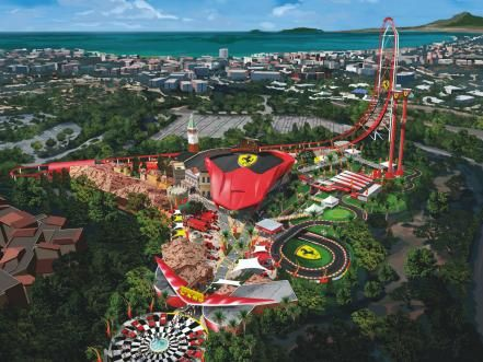 From Surprises In Shop Windows To Freebies The Kids Will Love These Attractions Might Not Be The Most Popular But A With Images Theme Parks Rides Theme Park Ferrari World