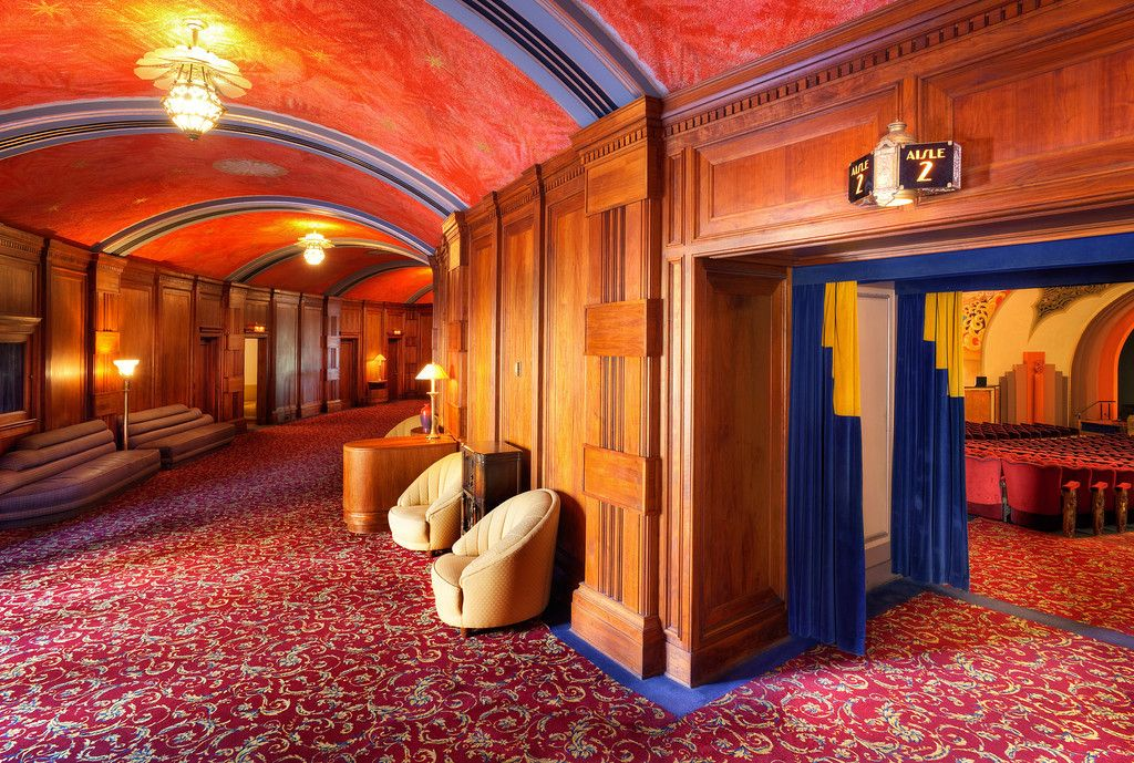 Image result for restored movie theater