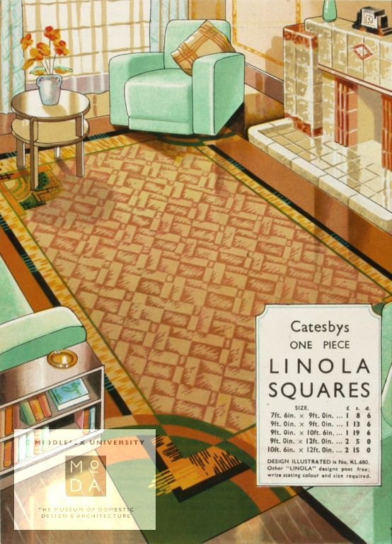 Publication - Catesbys colourful cork lino
