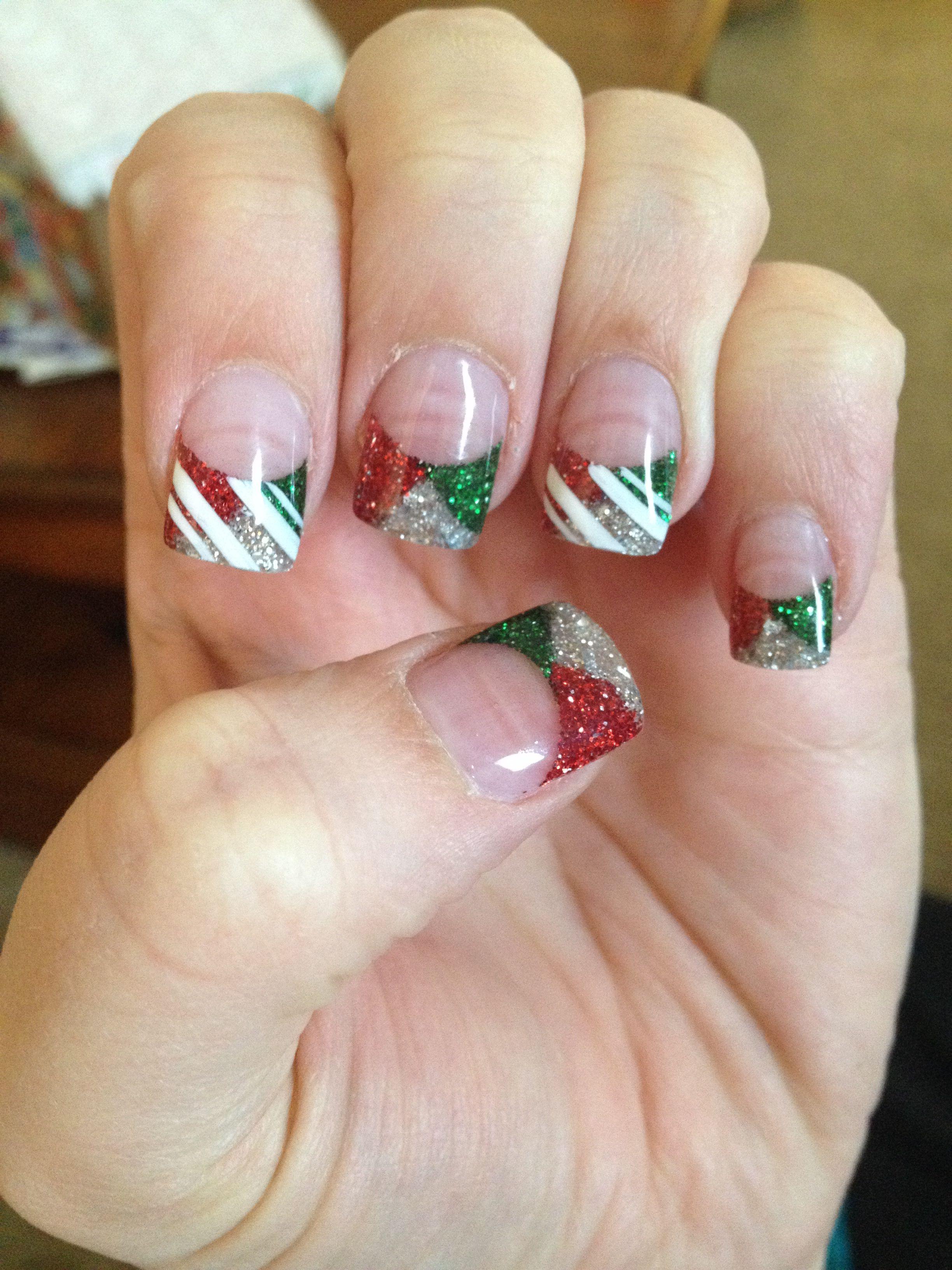 My Christmas Nails 2013 Christmas Nails Diy Christmas Nail Art Designs Christmas Nails