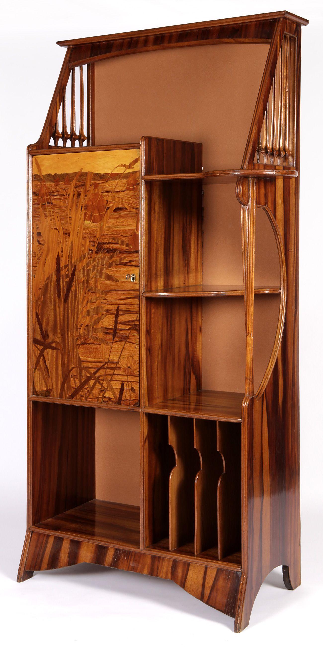 Majorelle Louis Jean Sylvestre France 1859 1926 Furniture  # Muebles Musiqueros Antiguos