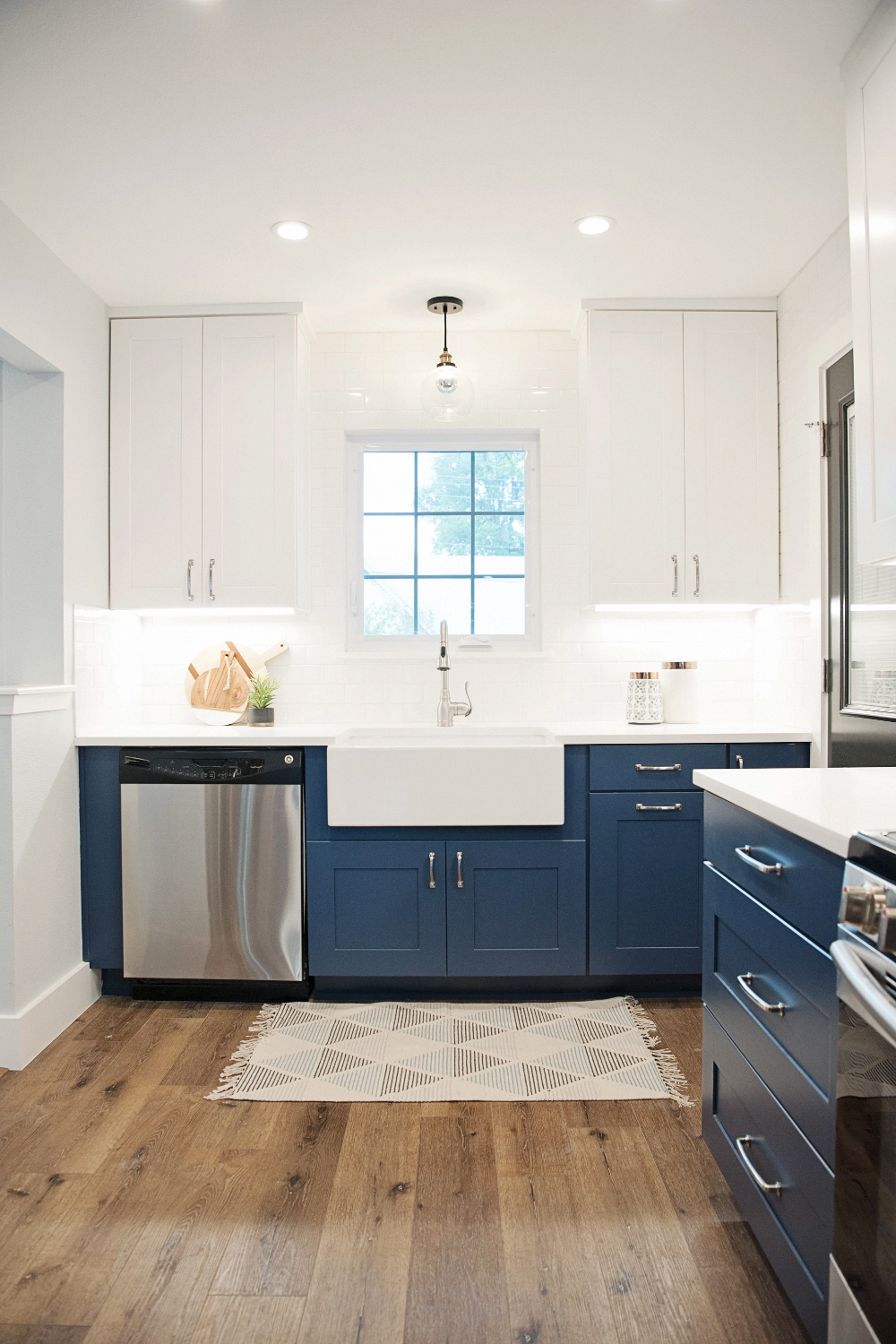 Trend Alert: Blue Kitchen Cabinets | Wolf Home Products # ...