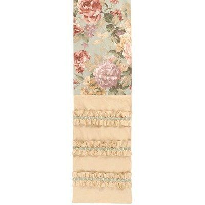 """Chesapeake 12.5"""" x 72"""" Table Runner with Braid by Jennifer Taylor. $104.07. 2716-588281 Features: -Table runner.-Traditional.-With braid. Collection: -Cheaspeake collection."""