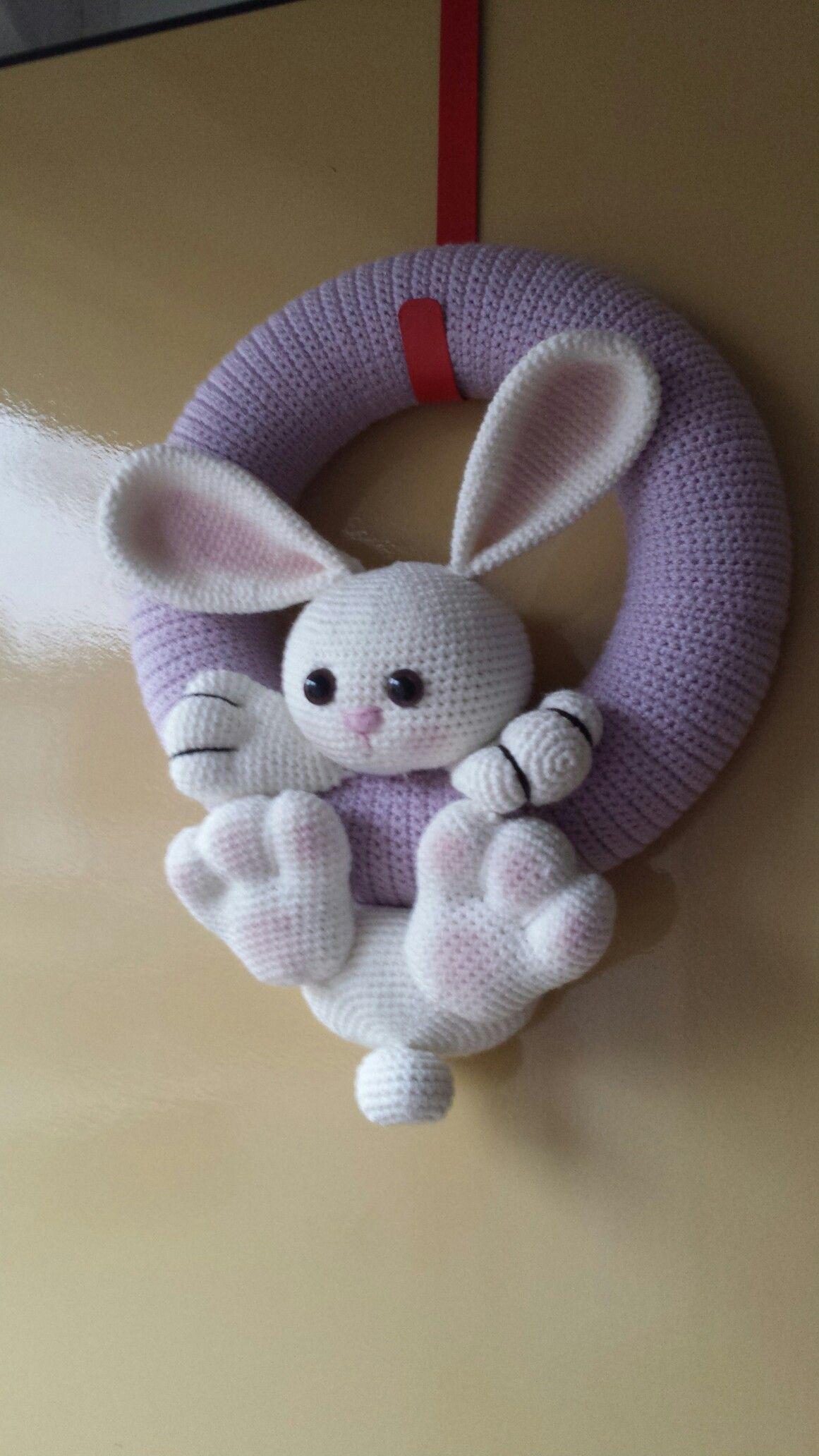 Paaskrans Zhayade Kransen Pinterest Crochet Amigurumi En Easter
