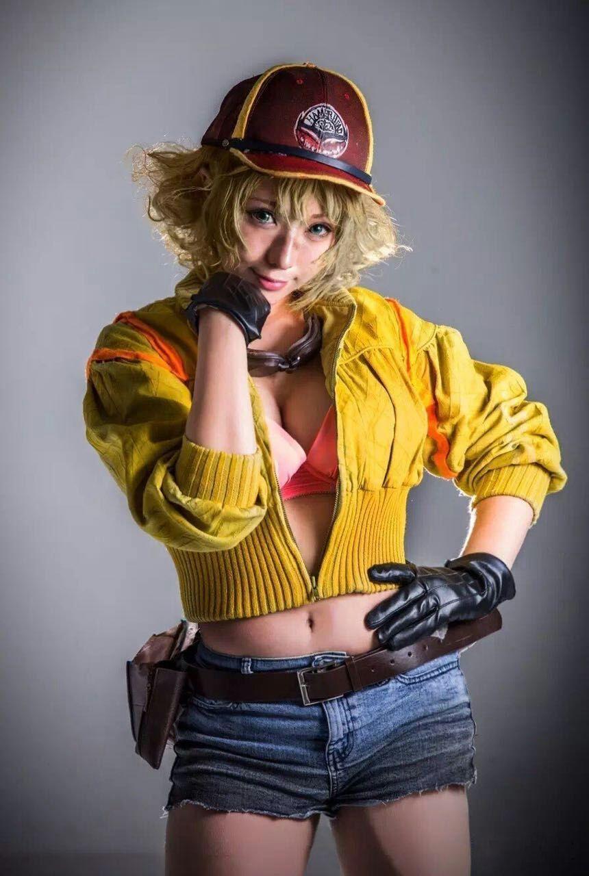 Final Fantasy Xv Cindy Aurum Cosplay Costume Cindy Aurum Final