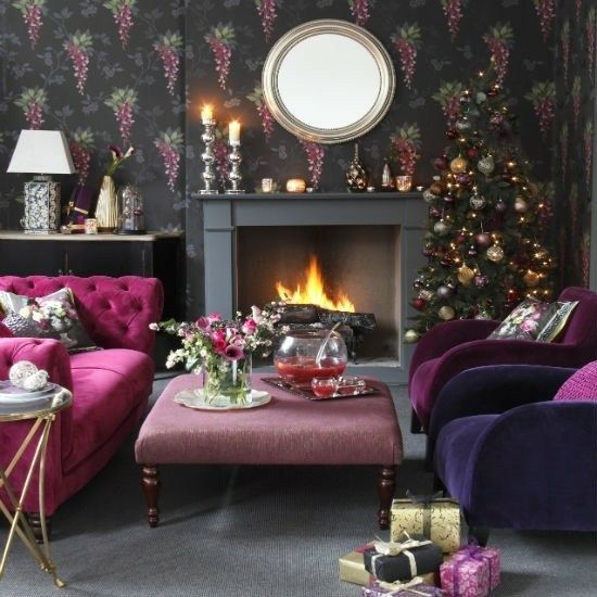 20 Deko-Ideen für das Wohnzimmer Weihnachts dekoration 2018