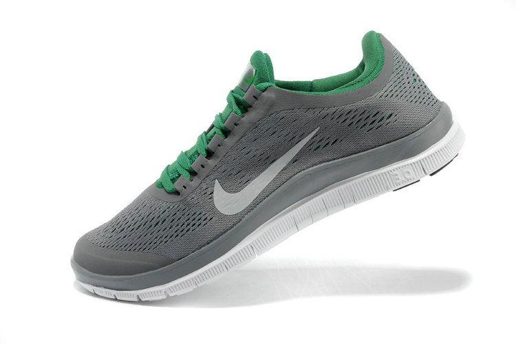 super popular 7f57d 09014 Nike Free 3.0 V5 Mens Original Wolf Grey Reflective Silver Poison Green  580393 013