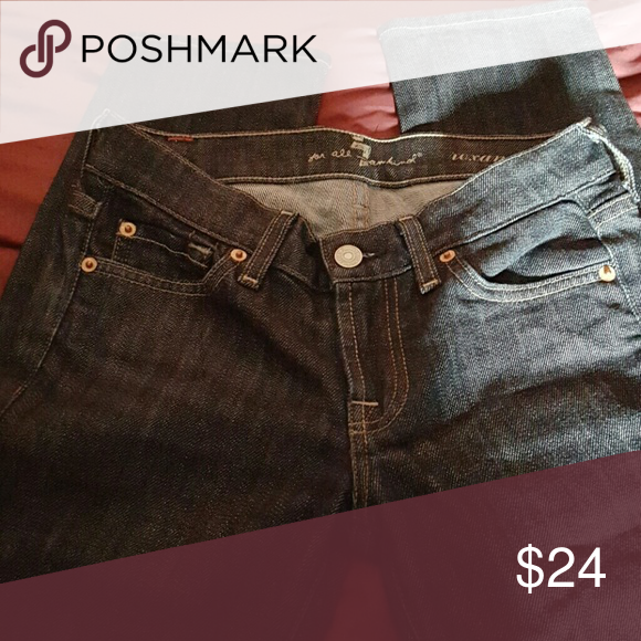 Size 24 jeans Roxanne 7 for all  mankind jeans 7 For All Mankind Jeans Skinny