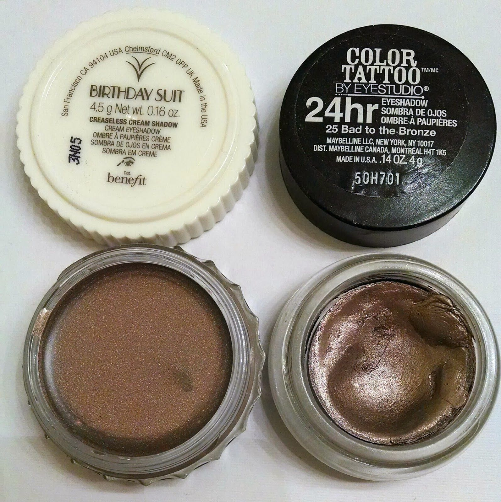 Maybelline color tattoo bad to the bronze benefit creaseless cream maybelline color tattoo bad to the bronze benefit creaseless cream shadow birthday suit dupe baditri Image collections