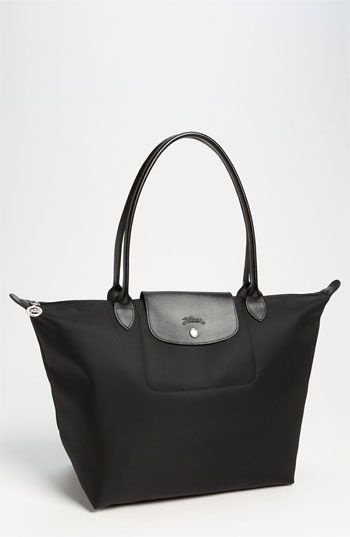 Black Canvas Tote Bag by Longchamp. Buy for $180 from